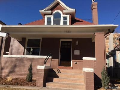 Single Family Home Under Contract: 1343 Fillmore Street