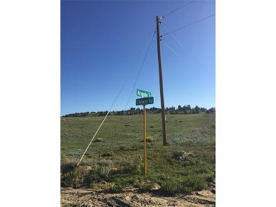 Hartsel Residential Lots & Land Active: 5108 Elkhorn Road
