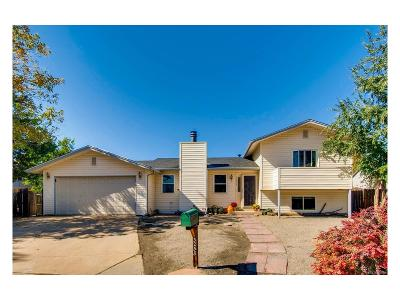 Broomfield Single Family Home Under Contract: 3258 Federal Circle