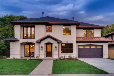 Denver Single Family Home Active: 135 Southmoor Drive