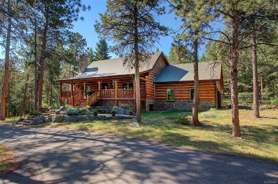 Morrison Single Family Home Under Contract: 8207 South Deer Creek Canyon Road