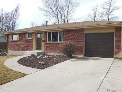 Denver Single Family Home Active: 8341 Ogden Street