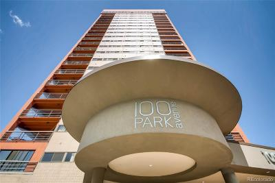 Denver Condo/Townhouse Under Contract: 100 Park Avenue #1907