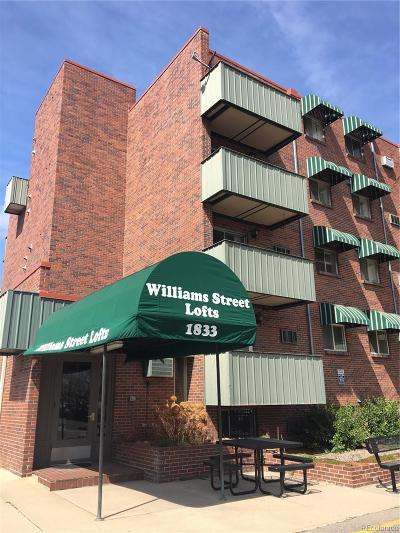 Denver Condo/Townhouse Active: 1833 North Williams Street #501