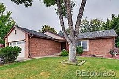 Thornton Single Family Home Under Contract: 12367 Fillmore Court