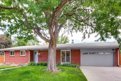 Denver Single Family Home Active: 5196 East Iliff Avenue