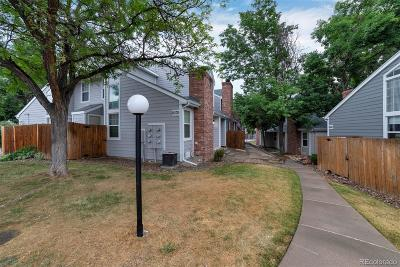 Arvada Condo/Townhouse Sold: 8370 West 87th Drive #E