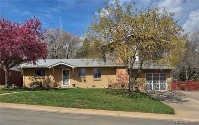 Wheat Ridge Single Family Home Under Contract: 4175 Yarrow Court