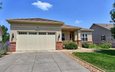 Broomfield Single Family Home Active: 4091 Corte Bella Drive
