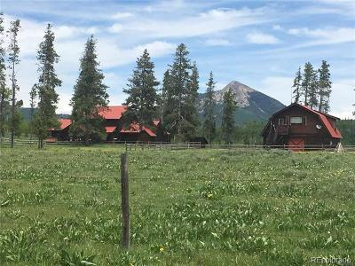 Routt County Single Family Home Active: 58255 Red Creek Road