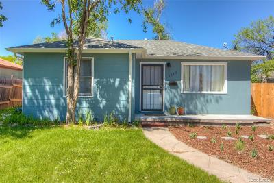 Aurora Single Family Home Active: 1117 Newark Street