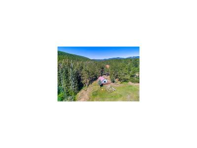Nederland Single Family Home Under Contract: 155 Cumberland Gap Road