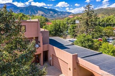 Manitou Springs Condo/Townhouse Active: 49 Crystal Park Road