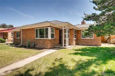 Denver Single Family Home Active: 2840 Hudson Street