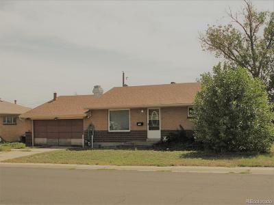 Denver Single Family Home Under Contract: 890 West 70th Place