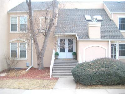 Aurora Condo/Townhouse Active: 13037 East Bethany Place