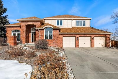 Highlands Ranch Single Family Home Active: 1289 Sarah Court