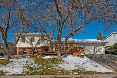 Morrison Single Family Home Sold: 4435 South Zang Street