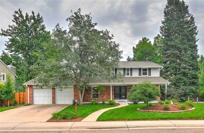 Arvada Single Family Home Under Contract: 8656 Iris Street