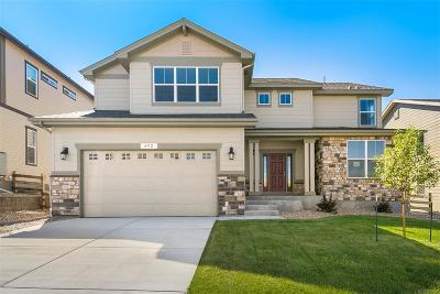Castle Rock Single Family Home Active: 492 Sage Grouse Circle