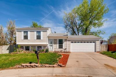 Aurora, Denver Single Family Home Under Contract: 1652 Fundy Way