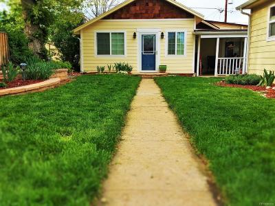 Denver Single Family Home Active: 3469 West 35th Avenue