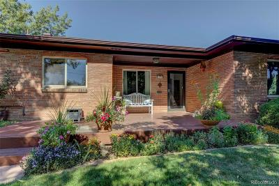 Wheat Ridge Single Family Home Active: 4655 Balsam Street