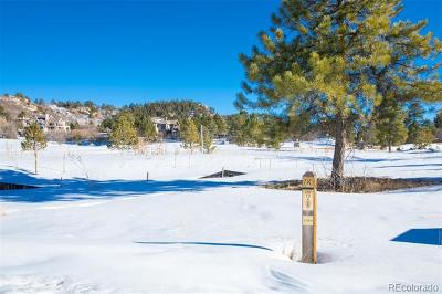 Castle Rock Residential Lots & Land Active: 1210 Wildcat Bend Court
