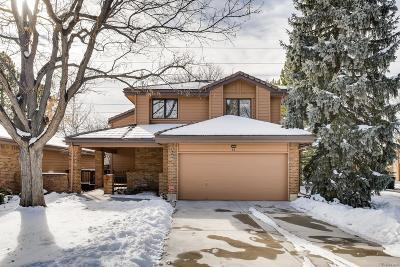 Denver Single Family Home Under Contract: 7900 East Dartmouth Avenue #44