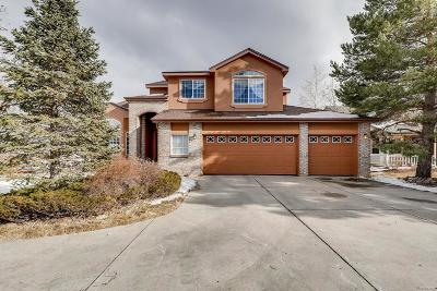 Broomfield Single Family Home Under Contract: 12810 Wolff Court