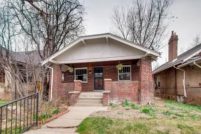Denver Single Family Home Active: 724 Elizabeth Street