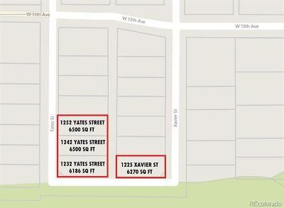 Denver Single Family Home Active: 1225 Xavier Street