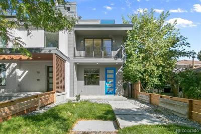 Denver Condo/Townhouse Active: 758 Elm Street