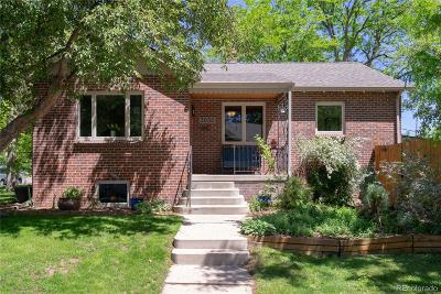 Denver Single Family Home Under Contract: 3030 Vrain Street
