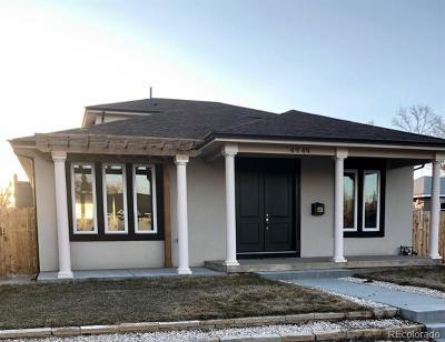 Regis Single Family Home Active: 4949 Osceola Street