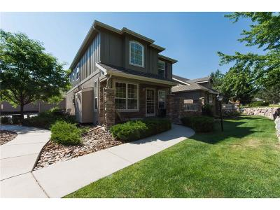 Castle Pines Condo/Townhouse Sold: 7501 Carey Lane