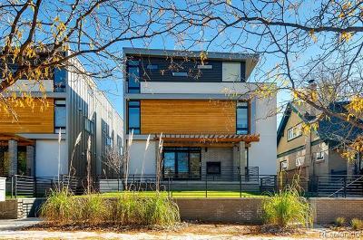 Denver Condo/Townhouse Active: 448 University Boulevard