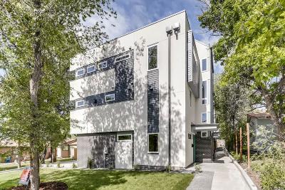 Denver Condo/Townhouse Under Contract: 1239 Osceola Street