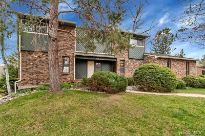 Centennial Single Family Home Under Contract: 7854 South Harrison Circle