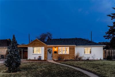 Denver Single Family Home Active: 150 Oneida Street