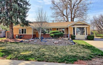 Wheat Ridge Single Family Home Under Contract: 7050 West 42nd Avenue