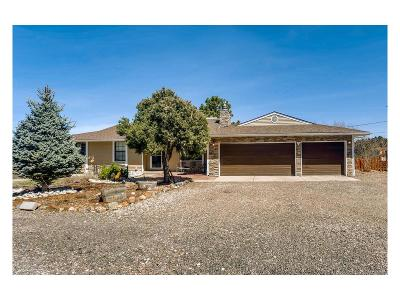 Castle Rock Single Family Home Under Contract: 5651 North Lariat Drive