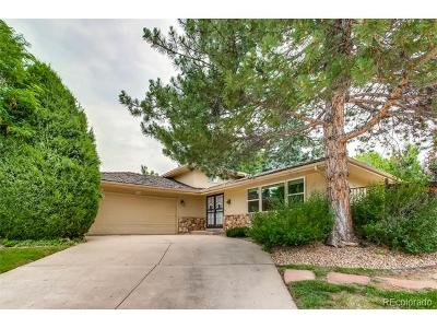 Centennial Single Family Home Under Contract: 6594 South Heritage Place