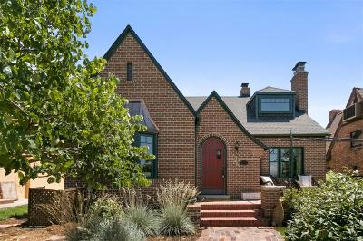 Denver Single Family Home Active: 4876 Tennyson Street