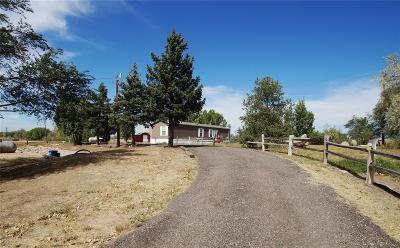 Fort Lupton Single Family Home Under Contract: 4699 Us Highway 85