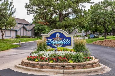 Arapahoe County Condo/Townhouse Under Contract: 2497 South Victor Street #A