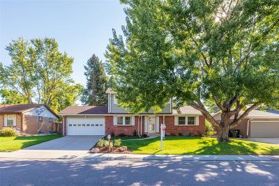Littleton Single Family Home Active: 6426 South Ingalls Street