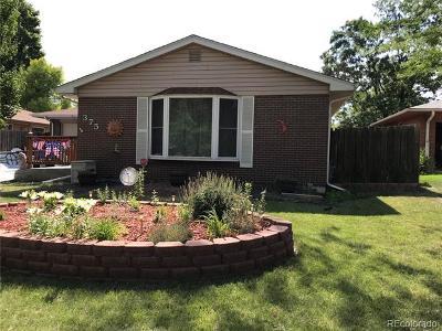 Broomfield Single Family Home Active: 375 Main Street