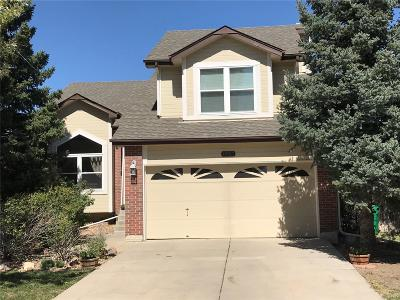 Centennial Single Family Home Active: 19917 East Crestline Place