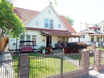 Denver Single Family Home Active: 2985 Grove Street